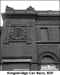 Kingsbridge Car Barn