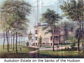 Audubon Estate on the banks of the Hudson