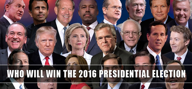 Who will win the 2016 presidential election